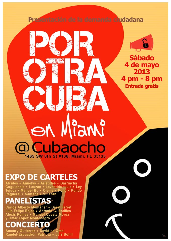 For Another Cuba in Miami on Saturday