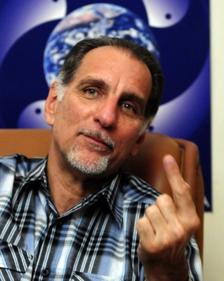 "Rene Gonzalez, a member of the ""Cuban Five"" or ""Five Heroes"" now back in Cuba. From http://lagartoverde.com"