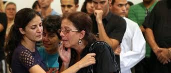 Rosa Maria Paya and Ofelia Acevedo at the funeral of Oswaldo Paya / Photo OLPL