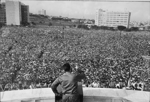 Fidel Castro Speaking in 1968