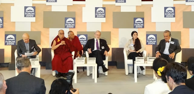 The Dalai Lama, Yoani Sanchez and others