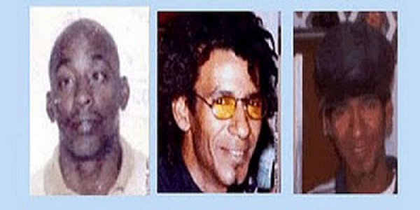 The three executed