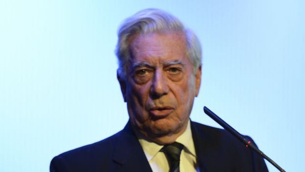Mario Vargas Llosa at the Vii Atlanta Forum (Casa de Americas)