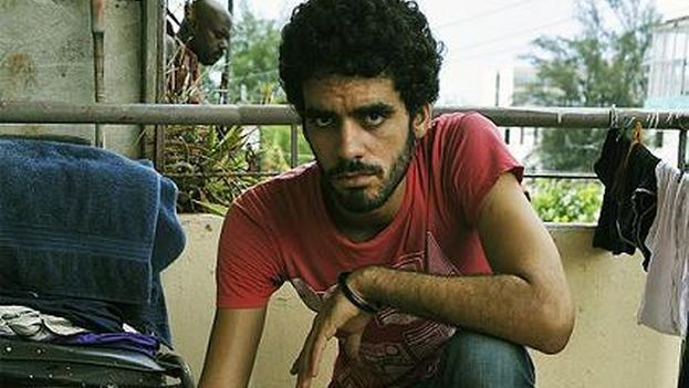 El Sexto at his home in Havana (14ymedio)