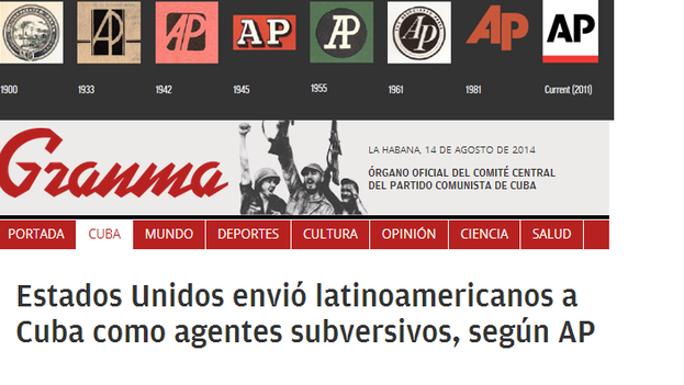 US sends Latin Americans as subversive agents, according to AP