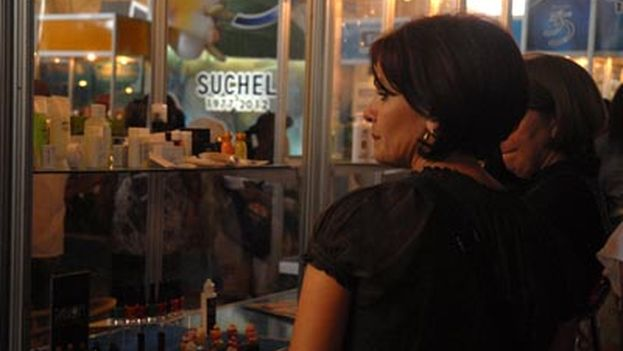 Suchel at the Havana International Fair