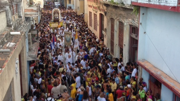 Pilgrimage for the Feast of the Virgin of Charity of Cobre in Havana