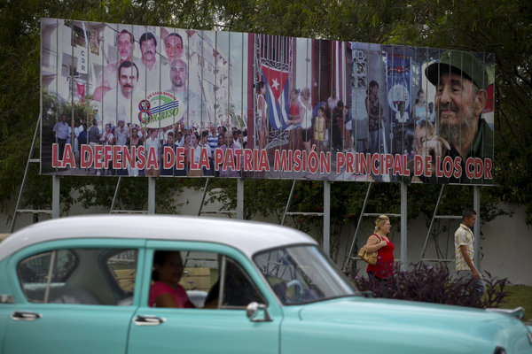 Havana, Cuba. Credit Desmond Boylan/Associated Press (Taken from the New York Times)