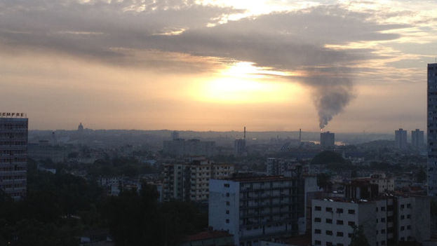 Sunrise in Havana (14ymedio)