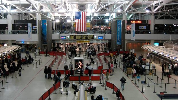 JF Kennedy Airport in New York. (Facebook page: Cuba Travel Services)