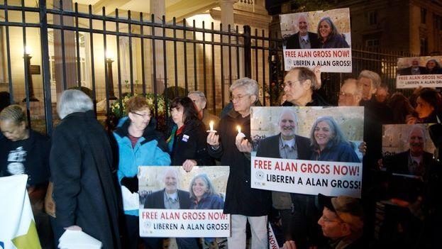 Demonstrations demanding the release of Alan Gross