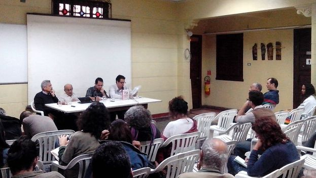 "Presentation about the book 'From Confrontation to Efforts at ""Normalization.""  The Policy of the United States towards Cuba.' (14ymedio)"
