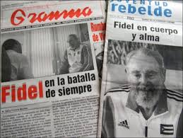 Fidel: Omnipresent in the official Cuban press