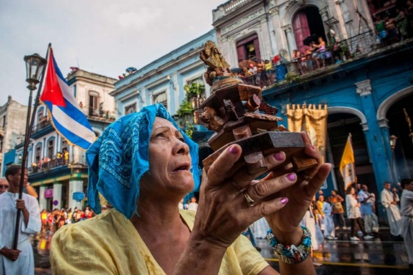 A religious Cuban woman