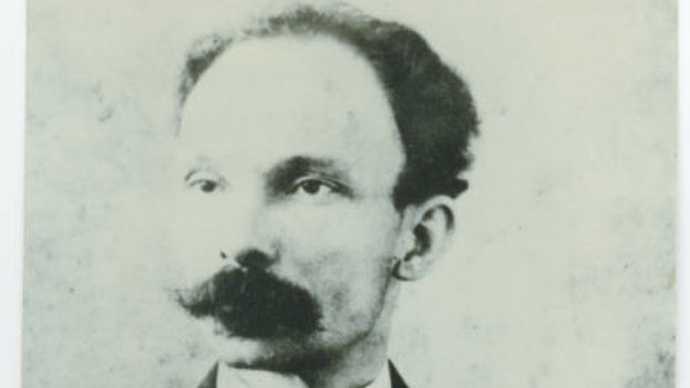 José Martí in a photo from 1891. (University of Miami)