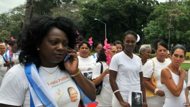 Berta Soler, leader of the Ladies in White. (CC)