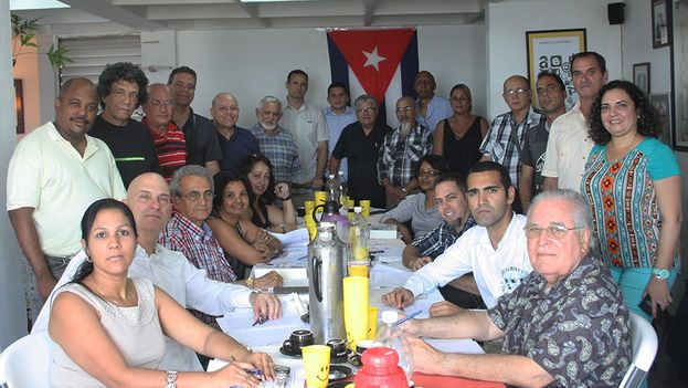 Meeting of Cuban Civil Society Open Forum. (14ymedio)