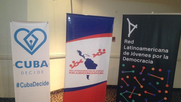 The site of Youth Movements Forum, held Monday in Panama. (14ymedio)