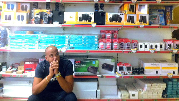 You cannot get a wireless router at state owned stores (14ymedio)