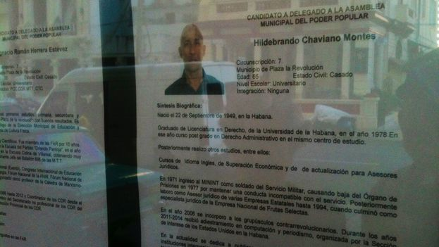 Biography of Hildebrand Chaviano Montes. (14ymedio)