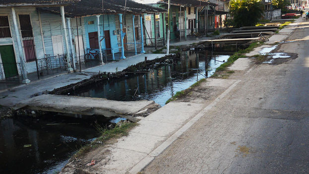 The sewage of Surgidero de Batabanó (14ymedio)