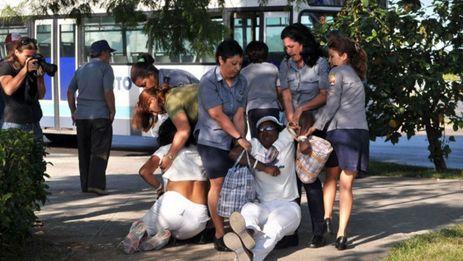 Arrests of Ladies in White (Source: MartiNoticias)