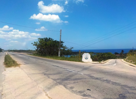 Entry point of the former Mosquito Camp, currently a fishing school (photo by the author)