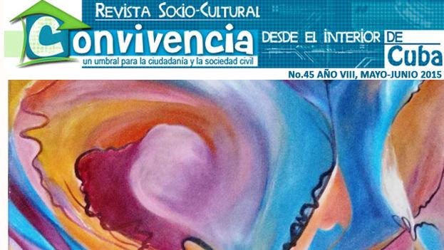Cover of Issue 45 of the magazine Convivencia