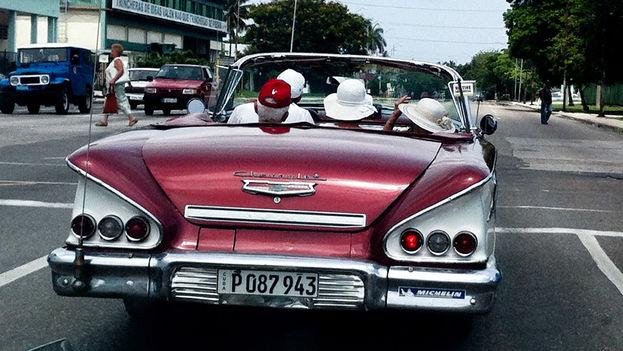 Tourists in Havana. (14ymedio)