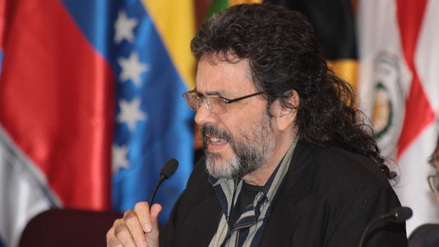 Abel Prieto, adviser to President Raul Castro on cultural issues in a forum of Ministers of Culture of Latin America and the Caribbean in 2010. (Ministry of Culture of Ecuador)