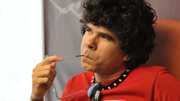 The musician Gorki Águila, leader of Porno para Ricardo. (EFE)