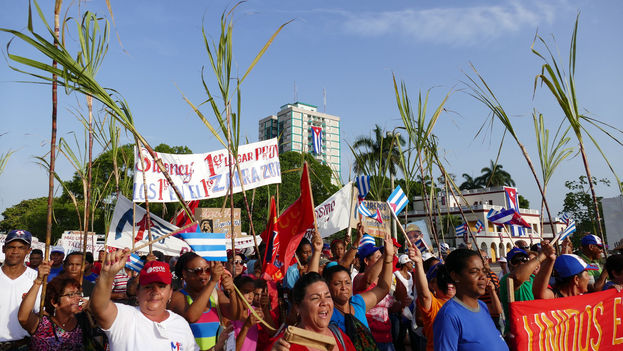 The May Day rally in Camagüey. (Flickr / CC)