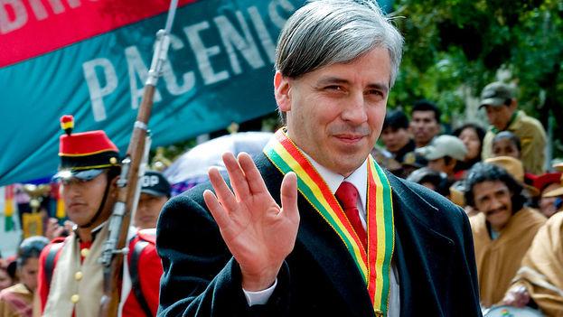 Bolivian Vice President Alvaro Garcia Linera. (Wikicommons)