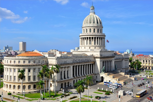 Havana's Capitol Building (photograph from the internet)