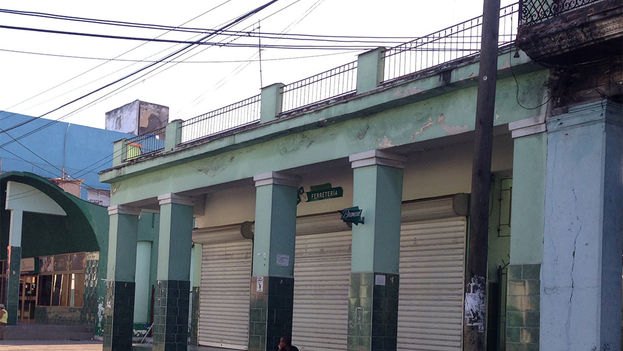 Hardware store where the Tosca Cinema once stood. (14ymedio)