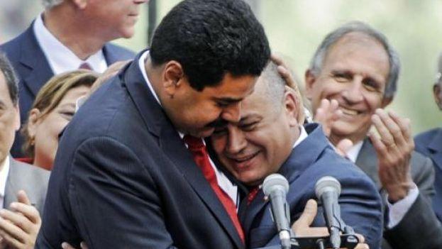 Nicolas Maduro and Diosdado Cabello