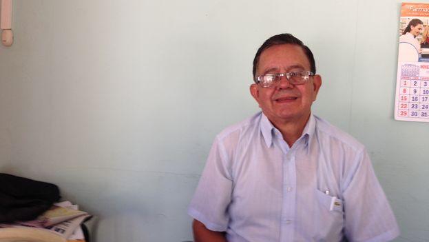 Pastor Gerardo Obando. (Reinaldo Escobar)