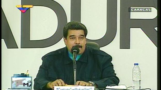 The Venezuelan president on his television program 'In Touch with Maduro'