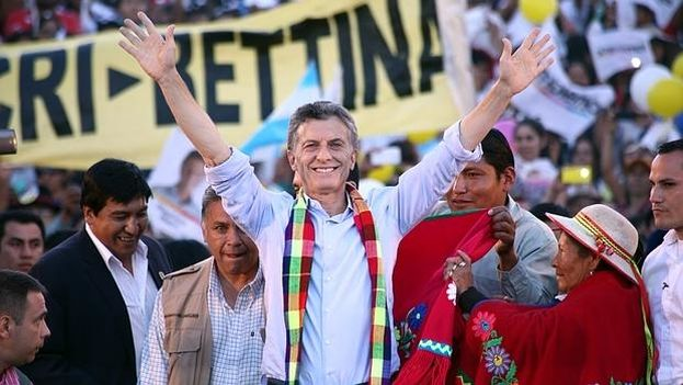 Mauricio Macri, the new president of Argentina (Photo EFE)