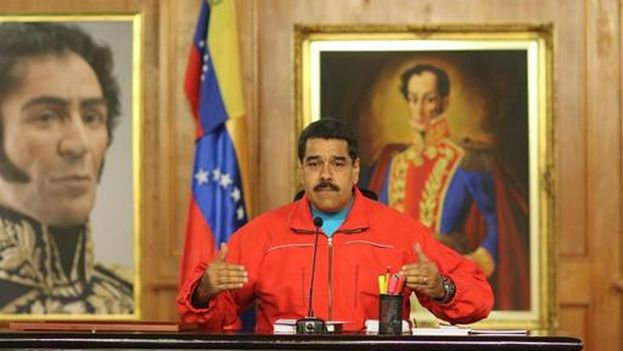 The president of Venezuela, Nicolas Maduro (Photo EFE)