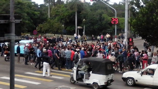 Gathering in Havana for Human Rights Day 2014 (14ymedio)