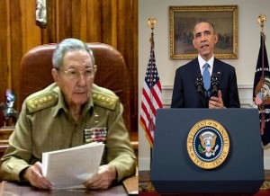 On 17 December 2014, Raul Castro and Barack Obama announced the start of restoration of relations (file photo)