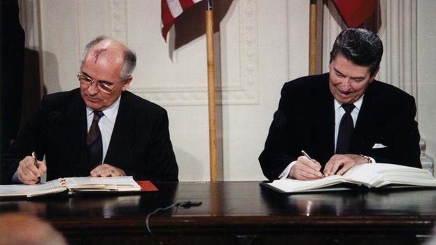 Mikhail Gorbachev, and Ronald Reagan (DC)