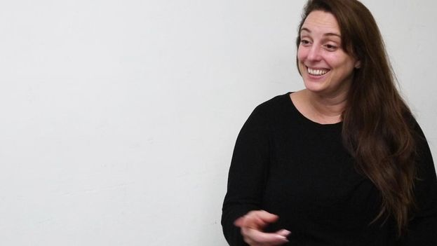 The artist Tania Bruguera. (14ymedio)