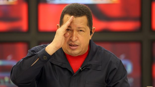 The late President of Venezuela Hugo Chavez. (Miraflores Palace)