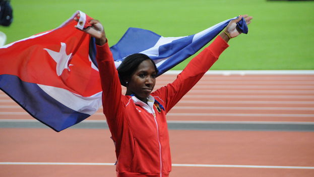 Yarisley Silva won a silver medal at the Olympic Games in 2012. (CC)