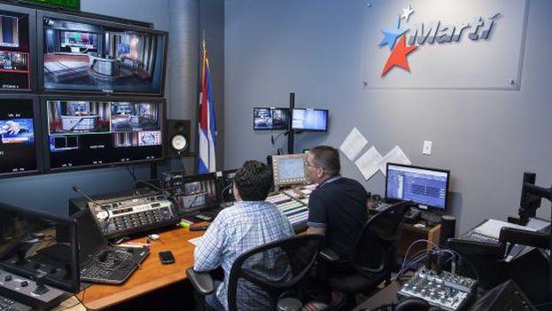 Radio Marti studio. (archive)