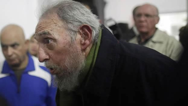 Former Cuban president Fidel Castro, in January 2014.
