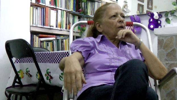 "Martha Beatriz Roque believes that work to defend human rights ""is becoming more difficult for the internal opposition,"" in Cuba. (14ymedio)"