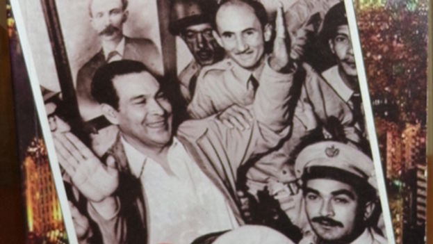 Fragment of the cover of the book 'Batista, The Coup' by Jose Luis Padron and Luis Adrian Betancourt.